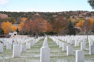 Veteran's Cemetary, Santa Fe