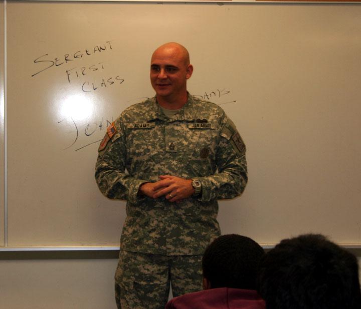 Sergeant First Class John B. Adams
