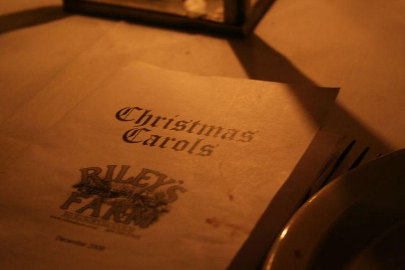 Riley's Farm Carol Book