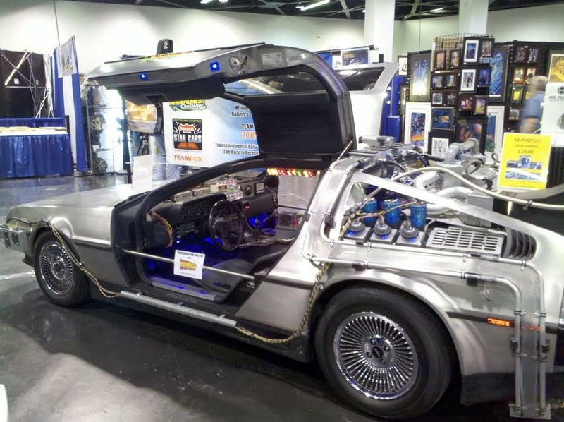 Backtothefuturedelorean