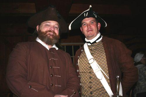 Captain Dunn and Captain Braxton