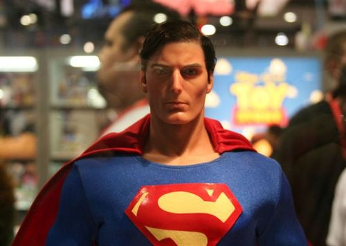 Chris Reeves Superman figure