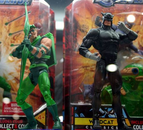 Green Arrow and Wildcat