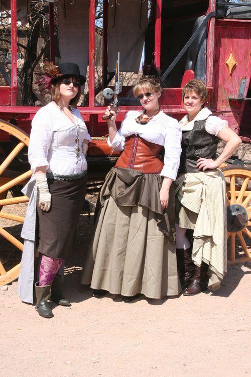 Wild West Steampunk 019